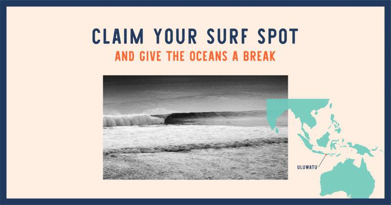 Claim your own surf spot!